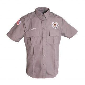 Short Sleeve Facilities BOP Uniform
