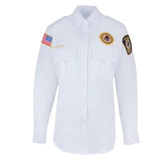 BOP Uniform Class A Long Sleeve White Shirt