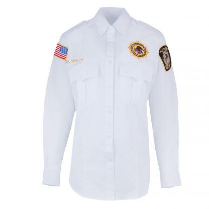BOP Uniform Class A Long Sleeve White Shirt