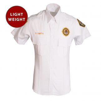 Mens Lightweight Unitec BOP Short Sleeve Work Shirt Class A