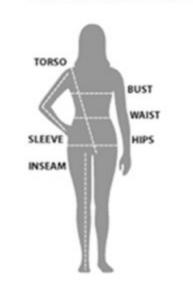 Measure Women Diagram