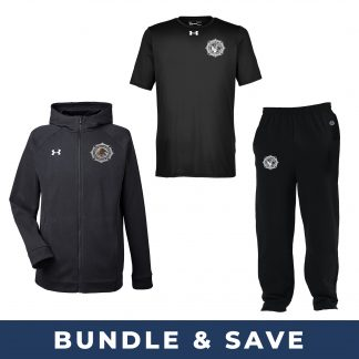 BOP Bundle with Under Armour Sweatshirt and T-Shirt and Champion Sweatpants